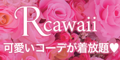 話題!スタイリスト付き☆流行ファッションをレンタルし放題♪新感覚サービス【Rcawaii】(月イチ定期プラン)