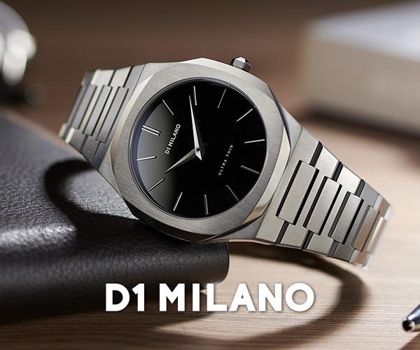 芸能人がドラマで使用 人気腕時計D1ミラノ(D1 MILANO)の公式販売