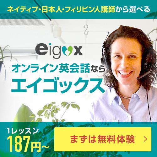 エイゴックス広告