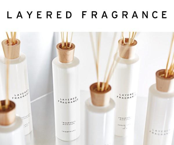 さりげなく香りクセになる【香りを楽しみ尽くすレイヤードフレグランス】